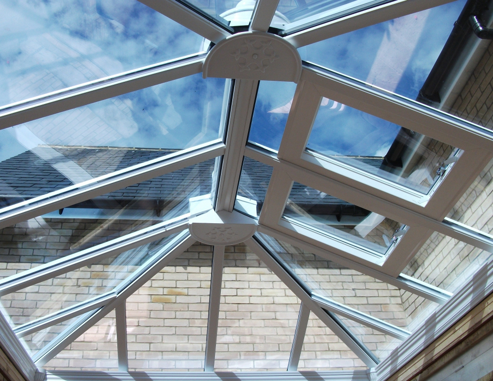 Conservatory roof vents