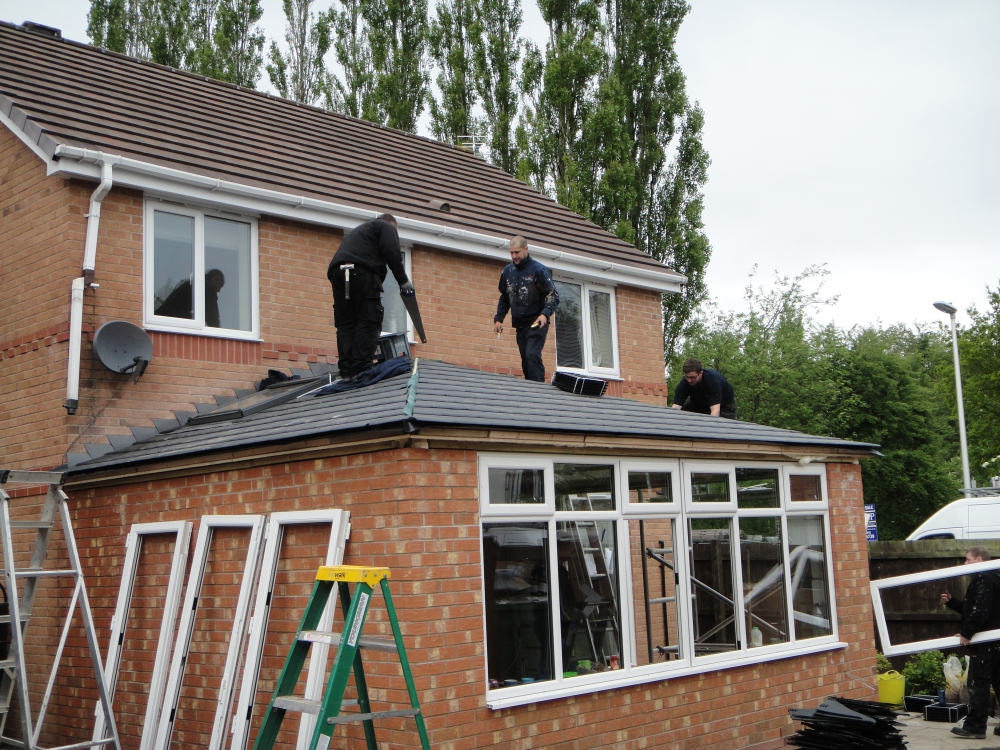 Building regulations must be met when converting a conservatory roof