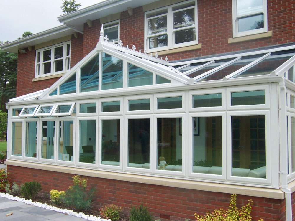 Replacement conservatory frames